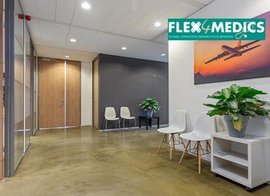 Flex4medics wachtruimte Eindhoven