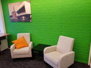 Groene kamer - Arnhem