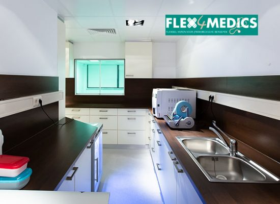 Operatiekamer Amsterdam Zuid - Flex4Medics - Scrub kamer