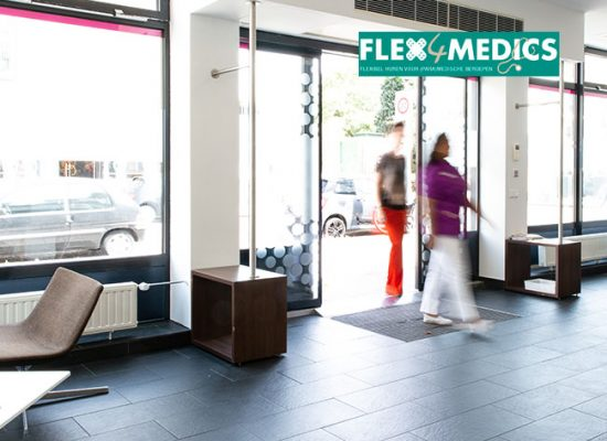 Operatiekamer Amsterdam Zuid - Flex4Medics - entree gebouw