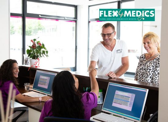 Operatiekamer Amsterdam Zuid - Flex4Medics - receptie